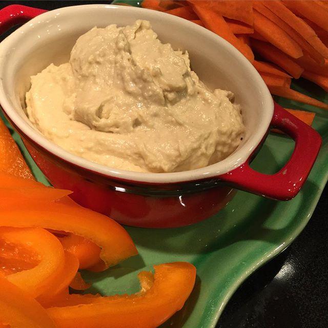 HummusPlatRougeLégumes